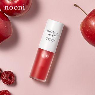 Appleberry lip oil by Nooni