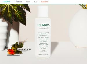 Clark's Botanical Handsanitizer