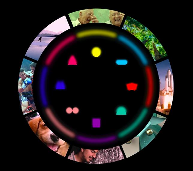 Moodrise element wheel