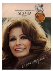 Sophia Loren perfume