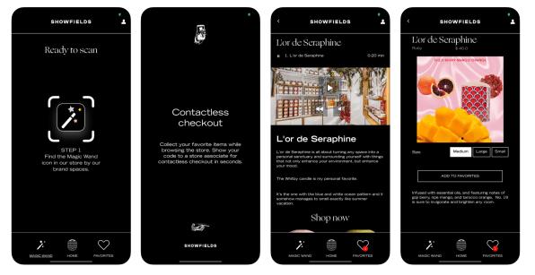 Showfields app