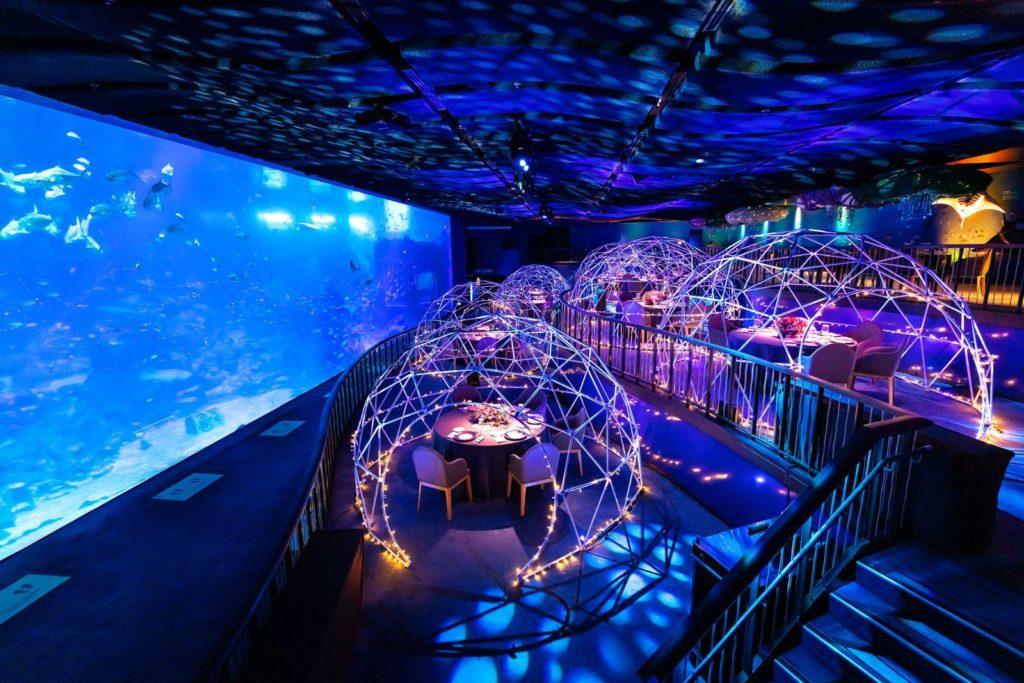 SEA Aquarium Dome Dining