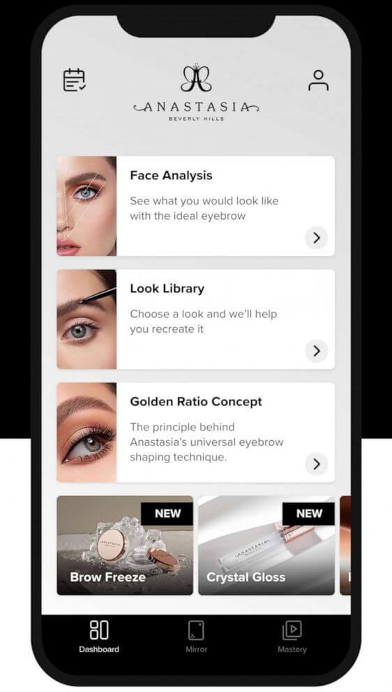 The brow app